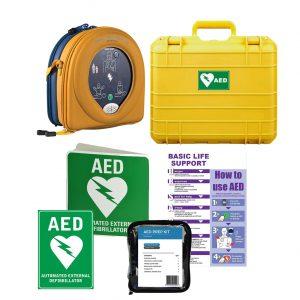 HeartSine Samaritan RD360 AED Hard Case Bundle