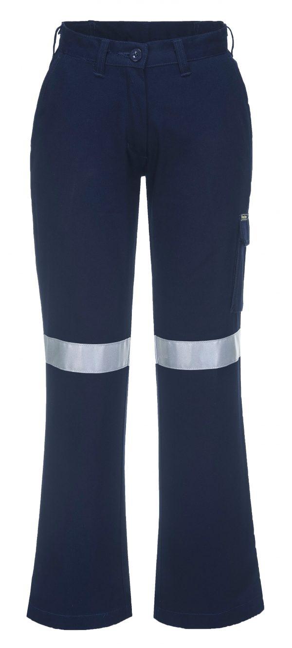 ML709 - Ladies Cargo Pants with Tape 4