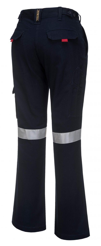 ML709 - Ladies Cargo Pants with Tape 2