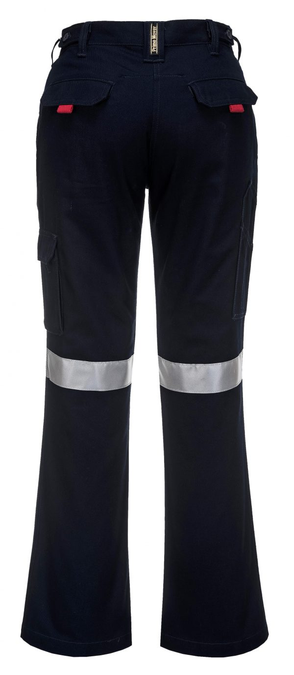 ML709 - Ladies Cargo Pants with Tape 3