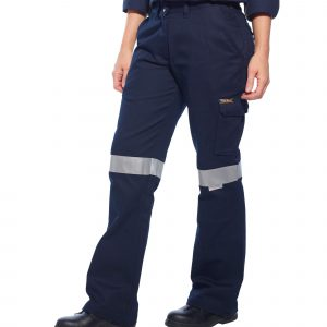 ML709 - Ladies Cargo Pants with Tape