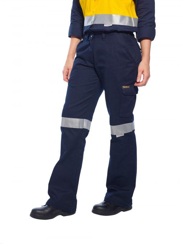 ML709 - Ladies Cargo Pants with Tape